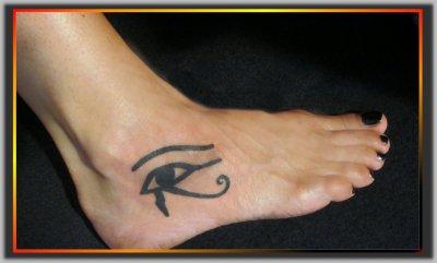 L 39 oeil d 39 horus monick art tattoo tattoo art monick - Oeil d horus tatouage ...