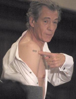 Ian tatoo ma passion pour le seigneur des anneaux - Tatouage seigneur des anneaux ...