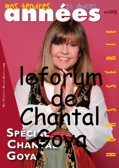 ".:! ""Hors-S�rie Sp�cial ""Chantal Goya"""" !:."